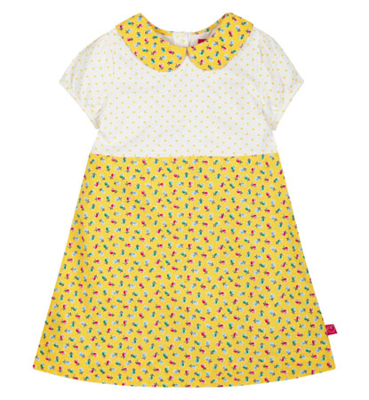 1960s-inspired Little Bird by Jools Yellow Floral Dress