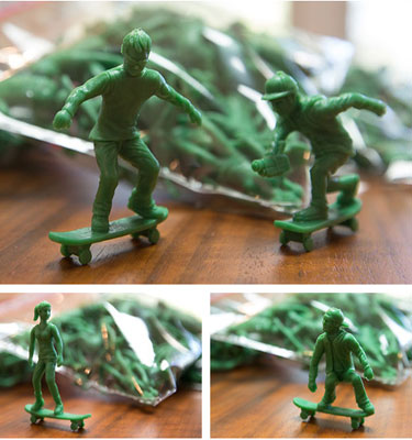 AJ's Toy Boarders - toy soldiers for the cool kids
