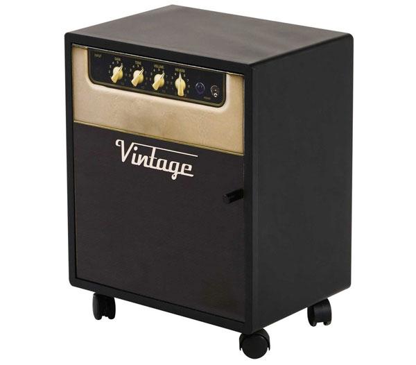 Vinyl amplifier-inspired bedside table at Maisons Du Monde