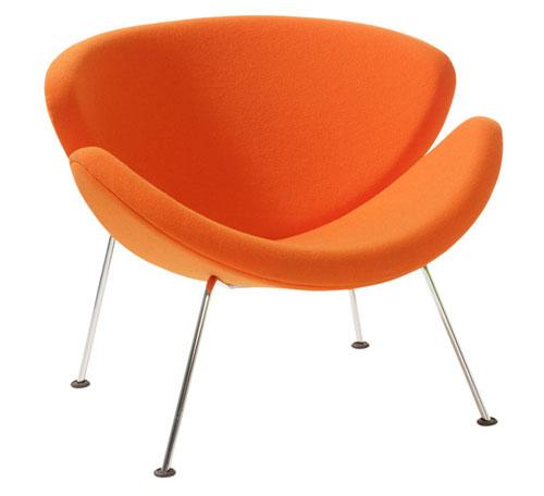 Artifort Junior Orange Slice Chair
