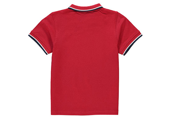 Mini mod: Tipped polo shirts by George at Asda