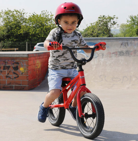 BMX balance bikes for kids by Kiddimoto