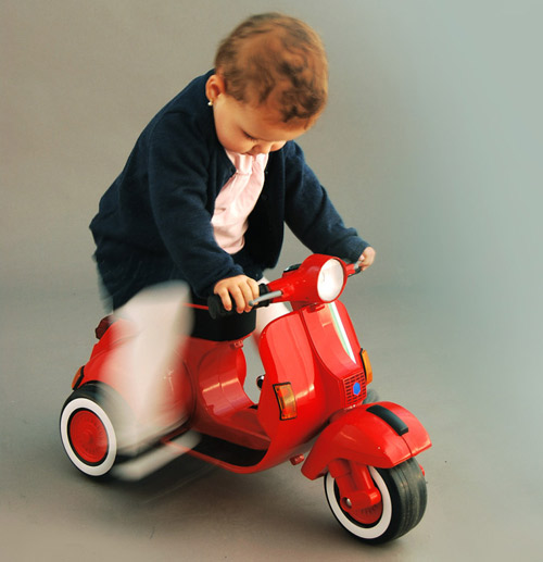 Classic wheels: The Baby Vespa by Bel and Bel