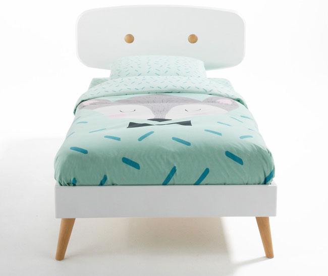 Midcentury-style Anda bed for kids at La Redoute
