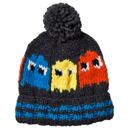 Retro headwear: Pac-Man beanie by Barts