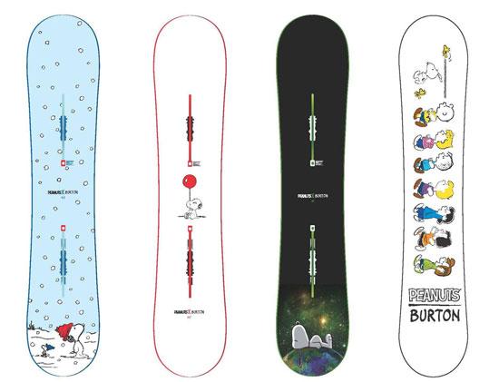 65eca888042 Burton x Peanuts snowboard range Burton x Peanuts snowboard range