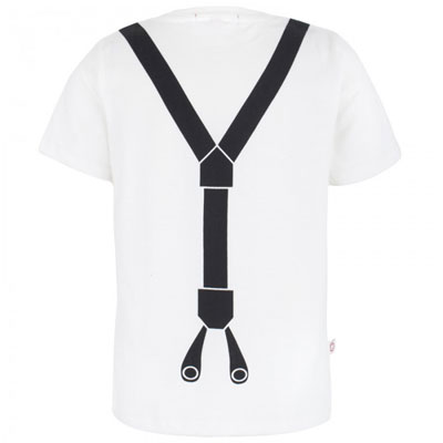 Brace Print Tee by Oh Baby London
