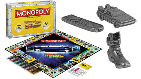 Coming this Christmas: Back To The Future Monopoly