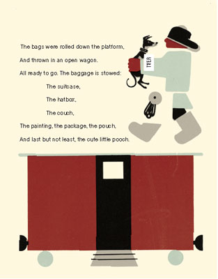 1920s Baggage book by Samuil Marshak and Vladimir Lebedev