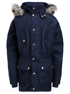 Barbour Parker coat