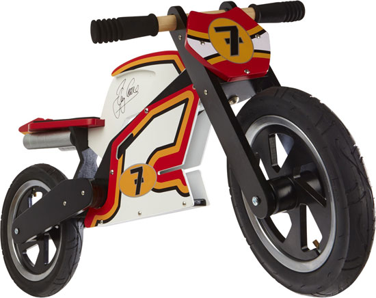 Barry Sheene GP balance bike by Kiddimoto