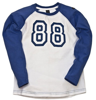 Baseball Tee at Moonkids