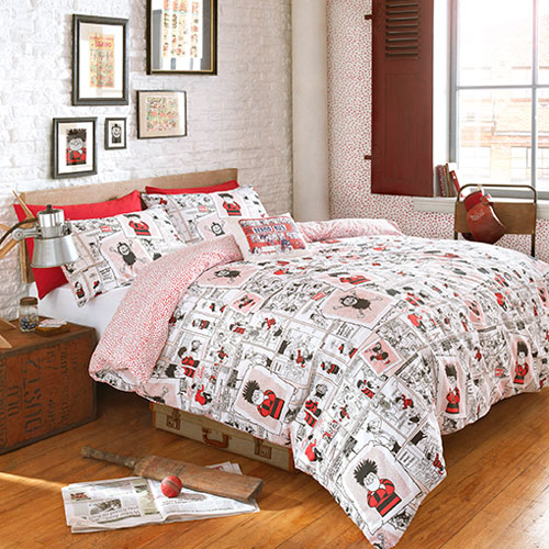 Beano Scrap Book duvet set
