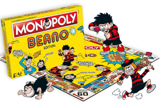 Beano Monopoly is exclusive to the Beano Store