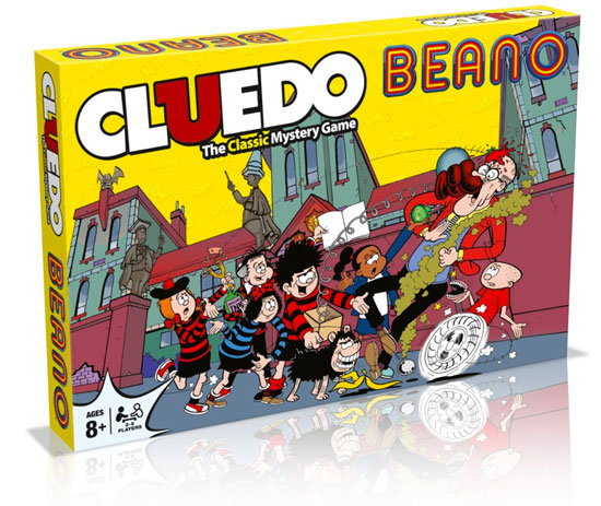 Coming soon: Beano Cluedo