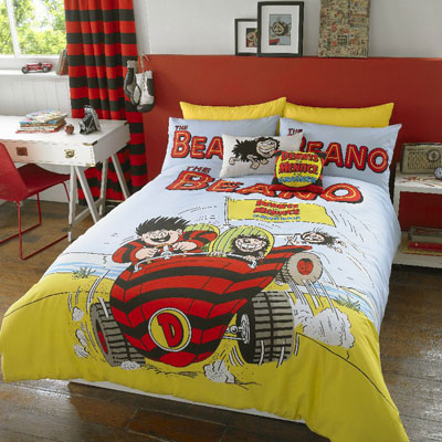 Beano Beach Car quilt set