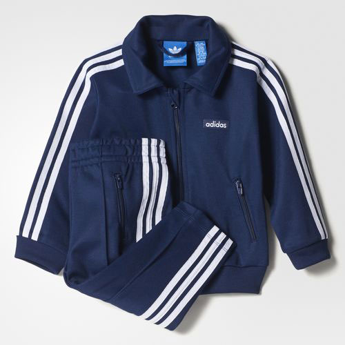 Going old school: Adidas Beckenbauer track suit for kids