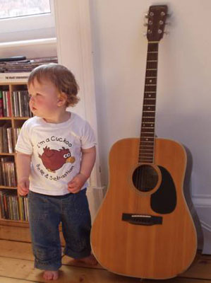 Belle & Sebastian Cuckoo t-shirt for kids