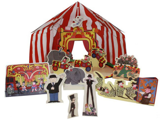 Mr Benn Make Your Own Big Top at the Tate Shop