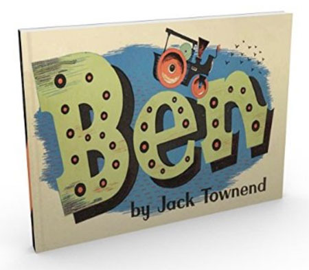 Vintage book reissues: Ben and Jenny The Jeep by Jack Townend