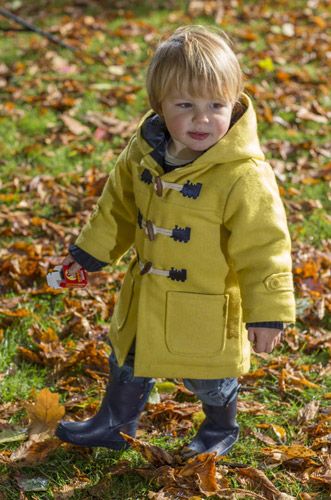 Bespoke duffle coats for babies by Cololo