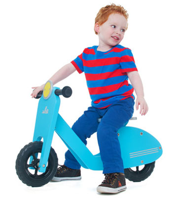 Vespa-inspired Balance Bike by J.I.P at Zulily