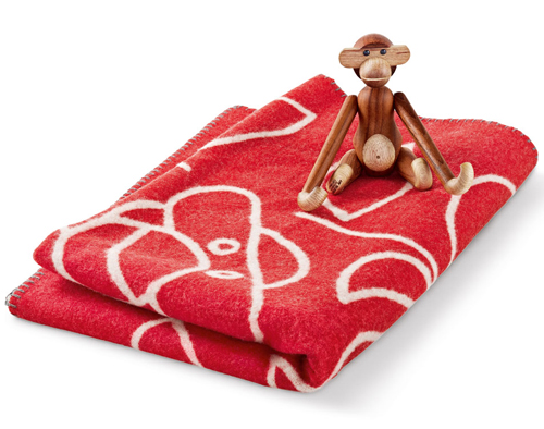 Kay Bojesen monkey blanket by Rosendahl
