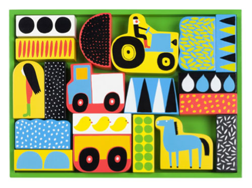 Raitti blocks by Marimekko at Skandium