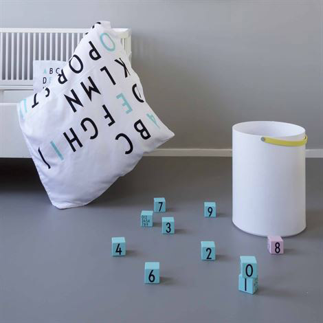 Arne Jacobsen Design Letters blocks for kids