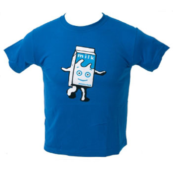 Blur Milky t-shirts for kids