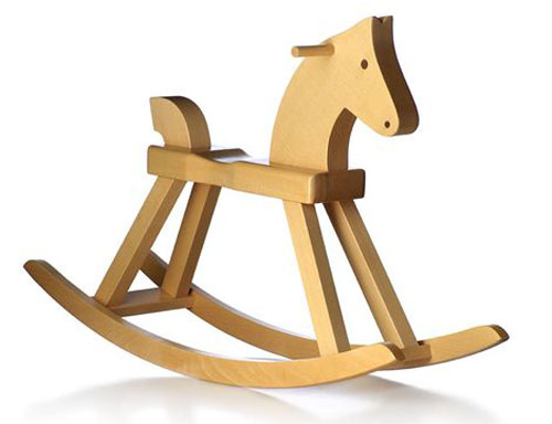Design classic for kids: Kay Bojesen Rocking Horse by Rosendahl Copenhagen
