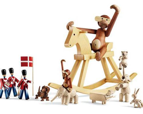 Design classic for kids: Kay Bojesen Rocking Horse by Rosendahl Copenhagen