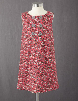 Button Pinafore Dress range at Boden