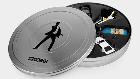 James Bond 007 Miniature Vehicles Set Junior Hipster