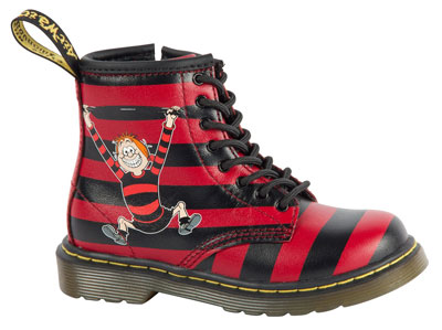 Limited edition Beano x Dr Martens boots