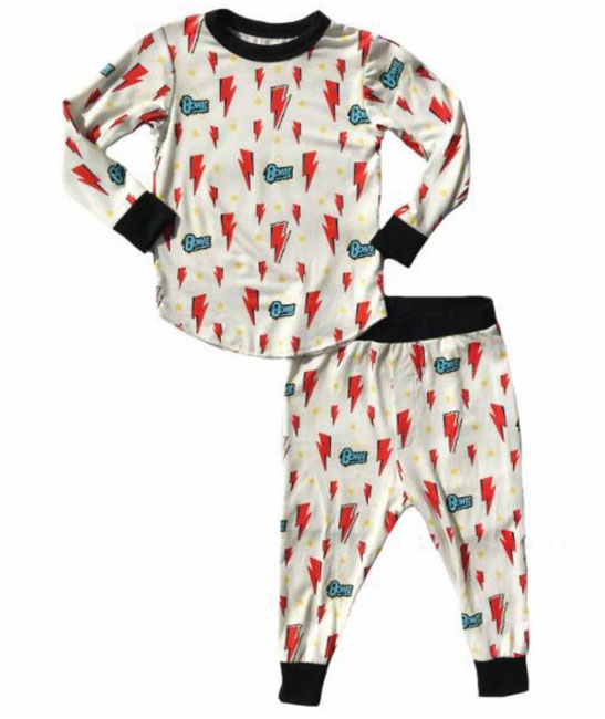 David Bowie pyjamas for kids by Kid Vicious