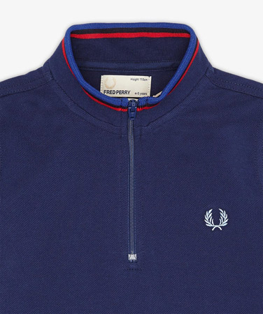 Fred Perry Bradley Wiggins cycling polo shirt for kids