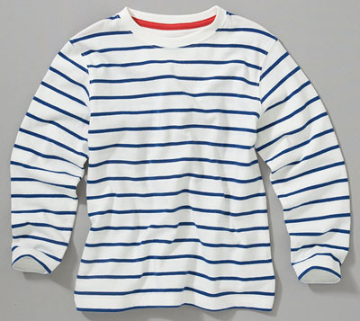 Breton striped top by John Lewis Boy