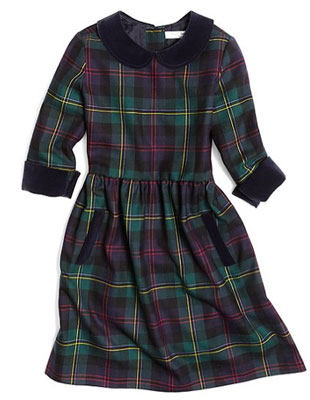 1960s-style Malcolm Tartan Dress at Brooks Brothers