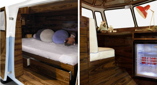 Circu Bun Van Bed - a replica for Camper van bed for kids