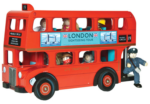 London Bus with Driver at JoJo Maman Bebe