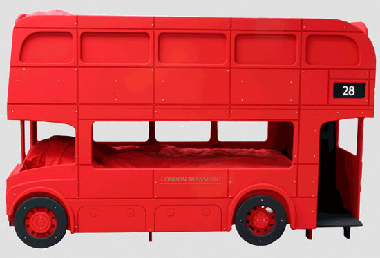 Routemaster bunk bed by the Fun Furniture Collection