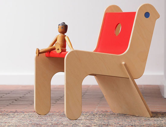 Kids room: Robin Day Childsply chair reissued