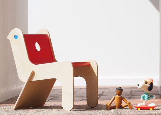 Kids room: Robin Day-designed Childsply chair reissued