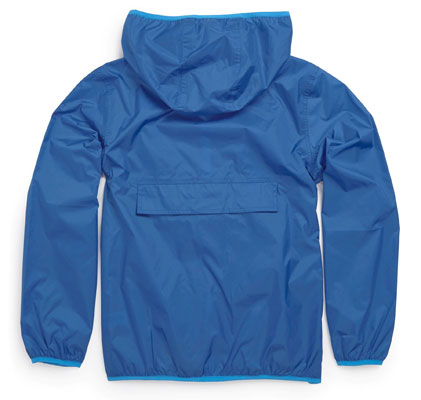 Old school outerwear: Cagoule in a bag at Next