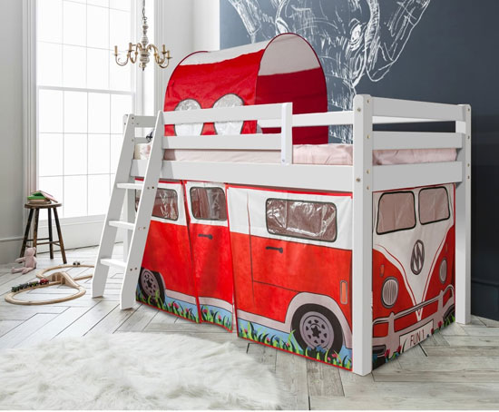 VW-style: Noa and Nani Campervan Tent Bed for kids