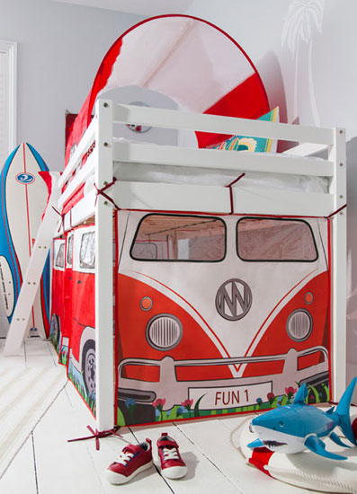 Noa and Nani Campervan Tent Bed for kids