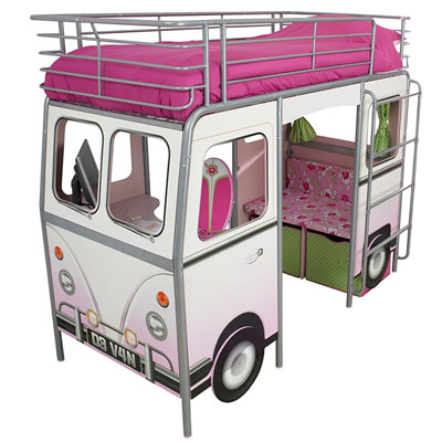 De Van Surfer - VW Camper Van bed for kids