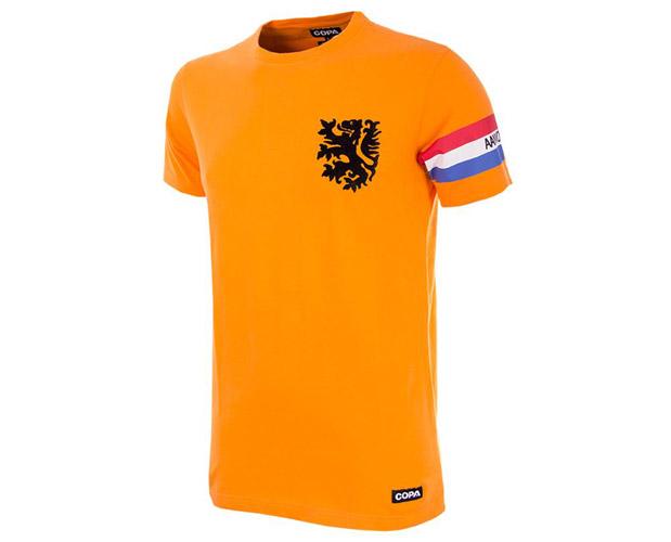 Football Captain retro kids t-shirts by COPA