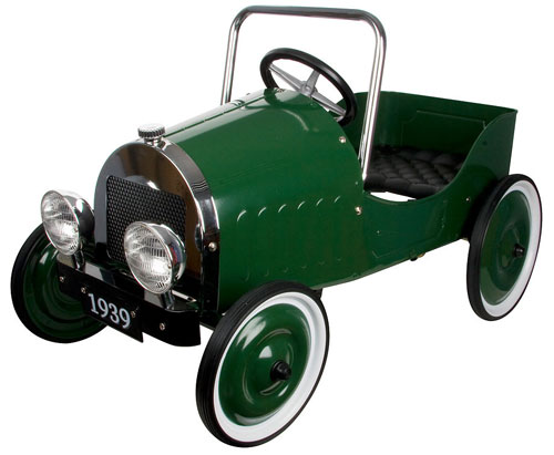 Discounted classic ride on and pedal cars at Zulily